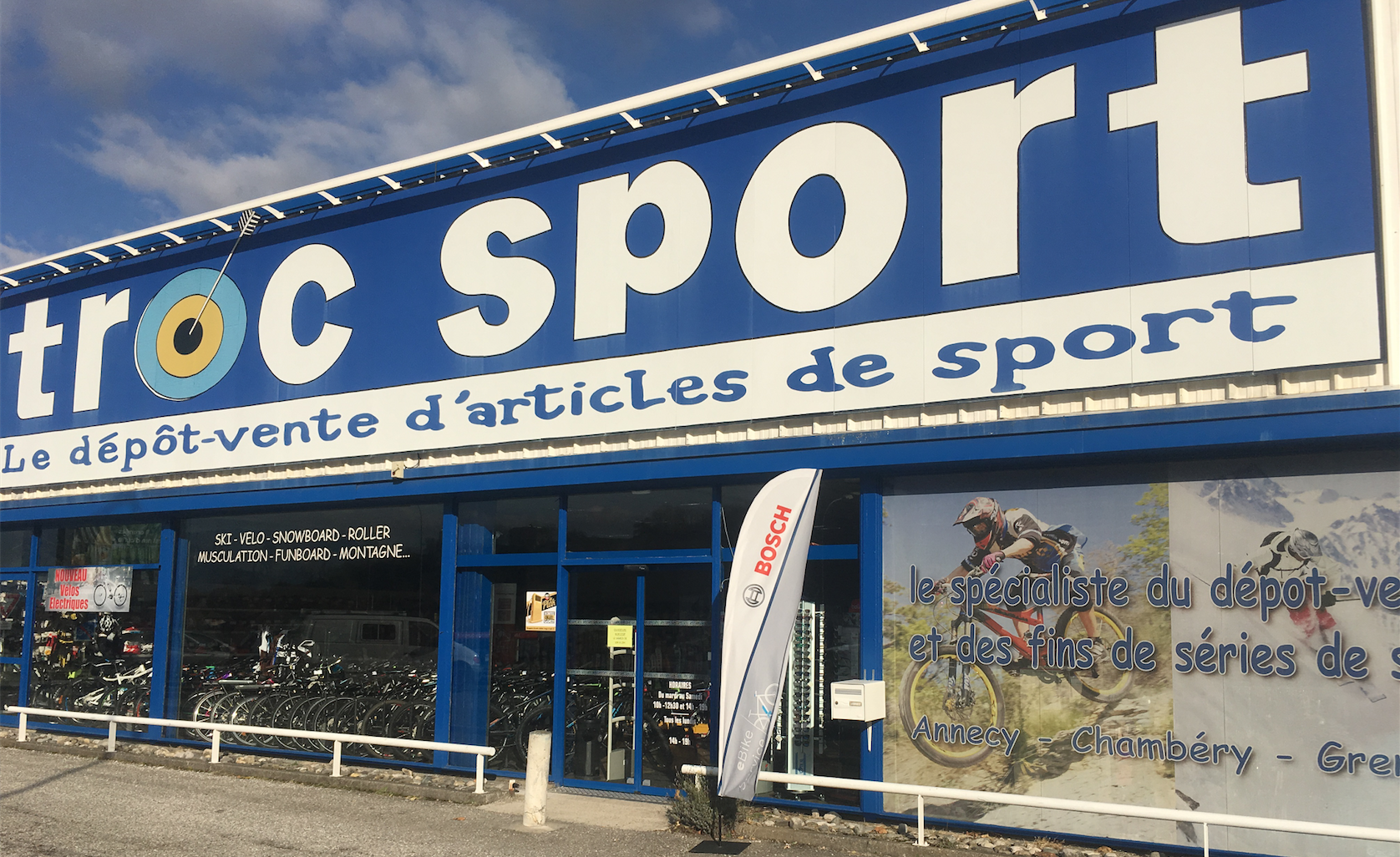 Magasin Chambery |  Troc Sport